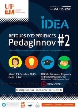 Retours sur les expérimentations de la classe inversée à Université Paris-Est pour enseigner et apprendre différemment - Ludovia Magazine   Formation & technologies   Scoop.it