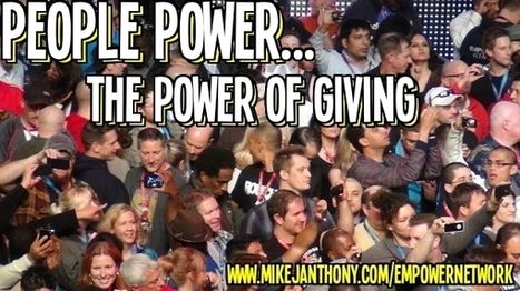 The Real Power of Giving Back | Making Money Online | Scoop.it