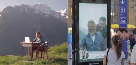 Zurich : Un panneau interactif vous incite à prendre des vacances à la montagne | Social Media, Marketing, Design ... | Scoop.it