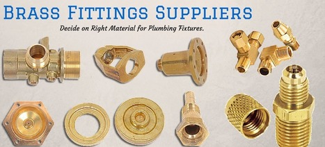 Brass fitting advantages for domestic plumbing fixtures | Business | Scoop.it