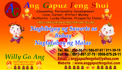 MASTER ANG FENG SHUI PSYCHIC FREE CONSULTATION MANILA   PHILIPPINE FENG SHUI MR. ANG OFFER FREE CONSULTATION   Scoop.it