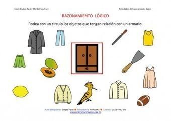 COLECCIÓN DE FICHAS Razonamiento lógico categorizar y agrupar | Orientacion Andujar | EDUCACION, TIC, WEB 2.0 Y RECURSOS PARA EL APRENDIZAJE | Scoop.it