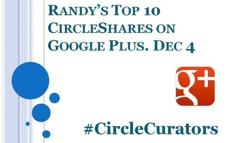The Top 10 CircleShares on Google Plus #CircleShares - @RandyHilarski | Social Media News | Scoop.it