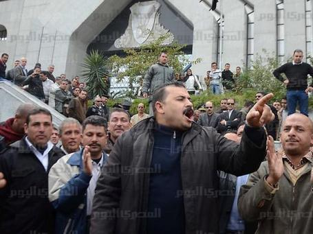 Police officers continue protests across Egypt | Égypt-actus | Scoop.it