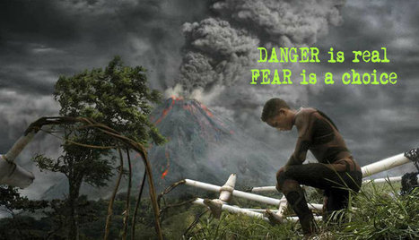 DANGER is real, but FEAR is a choice – Why You Shouldn't be Afraid | Motivation & Quotes | Scoop.it