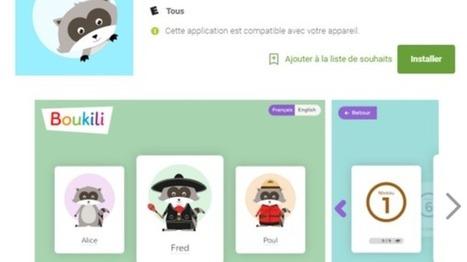 App Boukili - lecture | FLE enfants | Scoop.it