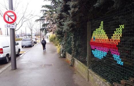 urban x stitch, punto de cruz callejero | Diseño gráfico e industrial | Scoop.it