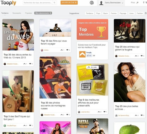 Tooply: le social network au Top ! | coworking nomade | Scoop.it