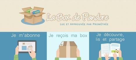 La Box de Pandore : la littérature jeunesse dans votre boîte aux lettres ! - Maze Magazine | Littérature de jeunesse | Scoop.it