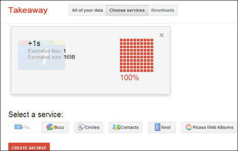 How to Download All Your +1s From Google+ As Bookmark Links | Time to Learn | Scoop.it