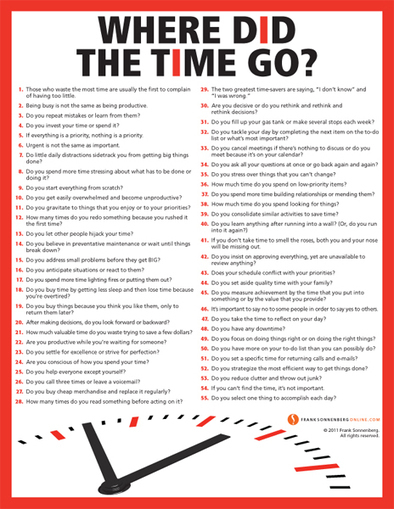 Where Did the Time Go? | #TimeManagement Tips | Communication design | Scoop.it