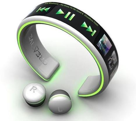 Amazing Pics,Quotes and Fun: Latest Amazing Wrist MP3 Player Creative | Hitech | Scoop.it