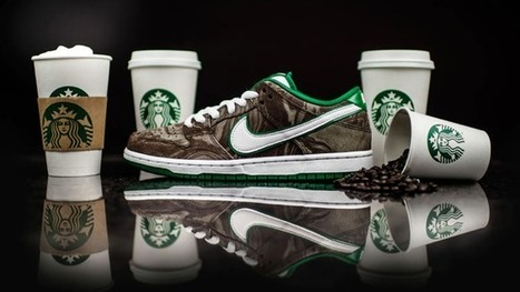 Nike's Starbucks sneaker is the latest in food-themed footwear | AP HUMAN GEOGRAPHY DIGITAL  STUDY: MIKE BUSARELLO | Scoop.it
