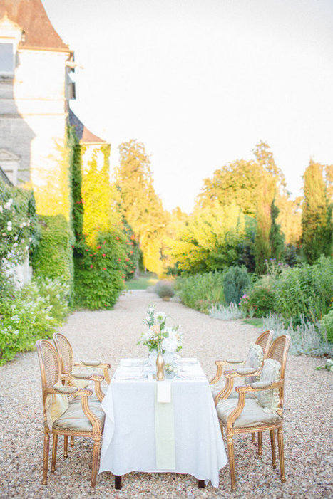 Fabulous Styled Shoot in a French Chateau | Travel | Scoop.it