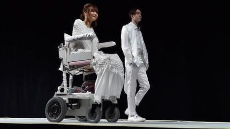 Défilé de haute couture au Japon. Des mannequins en fauteuil | Handi cap'... ou pas cap'? | Scoop.it