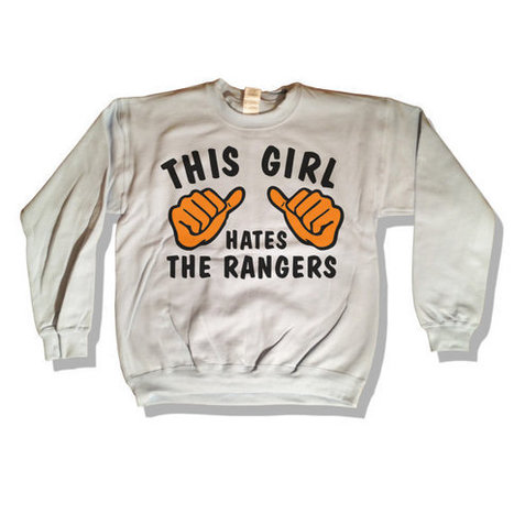 This Girl Hates - The Rangers Sweatshirt White Go Flyers Sweater 040   Mindfulwear Collection   Scoop.it