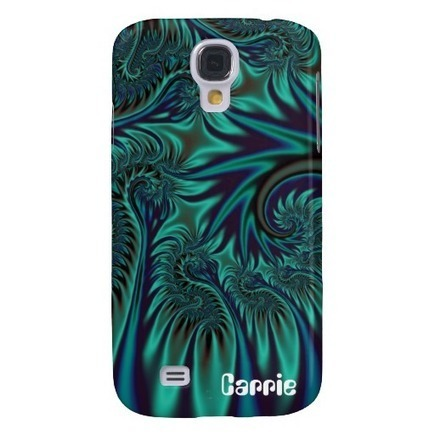 Blue Flight Samsung Galaxy S4 Covers from Zazzle.com | Fractal Gifts | Scoop.it