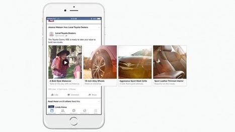 Here's How a Toyota Marketer Is Already Using Facebook's New Twist on Multimedia Ads | Entrepreneurship, Innovation | Scoop.it