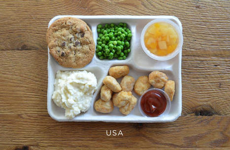 Take A Mouth-Watering Tour Of School Lunches From Around The World (And The Embarrassing U.S. Equivalent)   St. Pepe De Porcine   Scoop.it