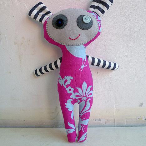 Tutorial: Cómo hacer un muñeco de trapo | Mamasita, el blog de Virginia Zuluaga | Trabalhos Manuais no Jardim de Infância | Scoop.it
