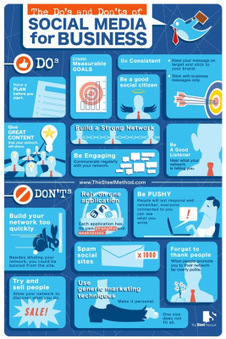 The do's and don'ts of Social Media for Business | Découvrir le Web 2.0 - Discover Web 2.0 | Scoop.it