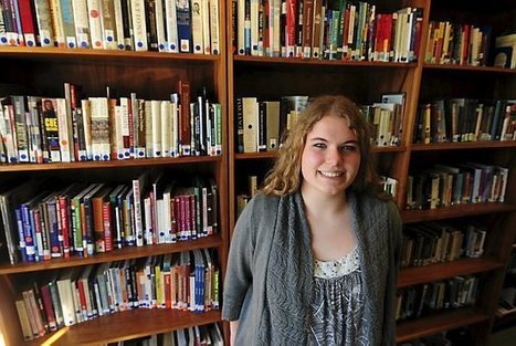 Homeroom: Avalon senior Grace Oehrlein fixed her school's library ... | School Librarian | Scoop.it