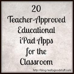 20 Teacher-Approved iPad Education Apps | Teacher Ideas | The Teacher's Lounge Blog | Using Ipads in Education RMLP | Scoop.it
