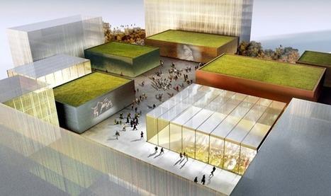 David Adjaye's Gesamtkunstwerk: See the Architect's Plans for a Vast Multi-Use Cultural Campus in Frankfurt   D_sign   Scoop.it