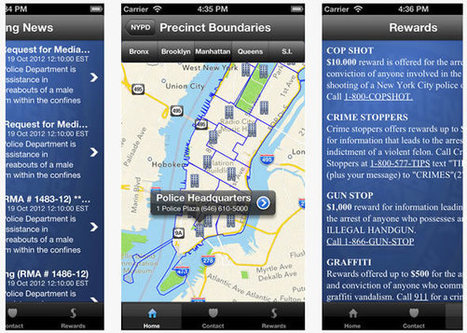 La police de New York lance son application iPhone | #VeilleDuJour | Scoop.it