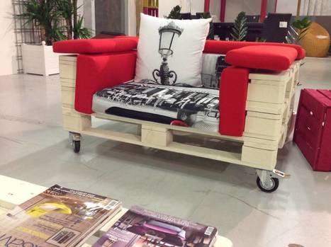7 formas de incorporar muebles hechos con palets en tu casa | REMAX Casa y Deco | Scoop.it