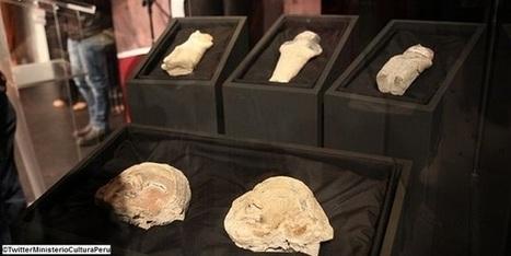 Les Découvertes Archéologiques: Des statuettes Caral vieilles de 3,800 ans découvertes au Pérou | archéologie | Scoop.it