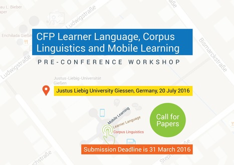 CFP Learner Language, Corpus Linguistics and Mobile Learning | Applied Corpus Linguistics to Education | Scoop.it