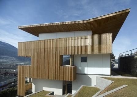 [ Pergine Valsugana, Trento, Italy] PF Single Family House / Burnazzi Feltrin Architects | The Architecture of the City | Scoop.it