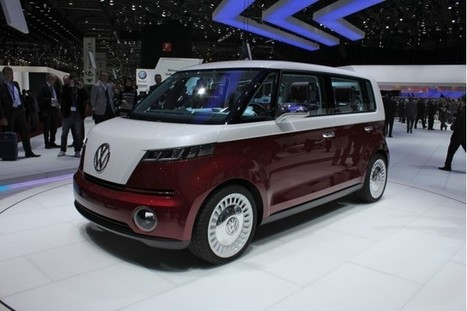 Long-Range Electric VW 'Budd.e' Concept To Debut At CES (UPDATED)--Video | SJB Autotech News | Scoop.it
