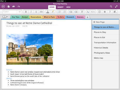 OneNote update finally lets you Create new Notebooks on your iPad | iPads in the Classroom | Scoop.it