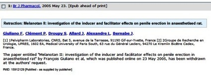 Correcting Errors in PubMed | Information skills | Scoop.it