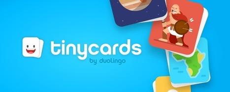 5 choses que Tinycards révèle sur notre manière d'apprendre | Valorisation de l'information et des savoirs : modèles économiques et usages | Scoop.it