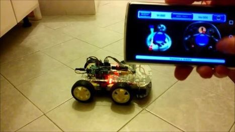 Arduino 4WD rover bluetooth controlled by Android phone/tablet | Raspberry Pi | Scoop.it