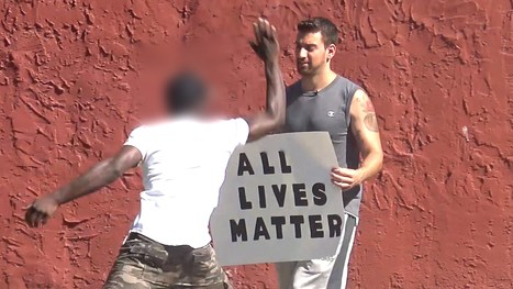 Black Lives Matter vs All Lives Matter Supporters (Social Experiment) - YouTube | Criminal Justice in America | Scoop.it