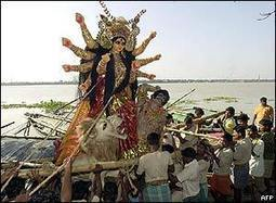 BBC NEWS | In Pictures | In pictures: Durga Puja festival | Religion in the world | Scoop.it