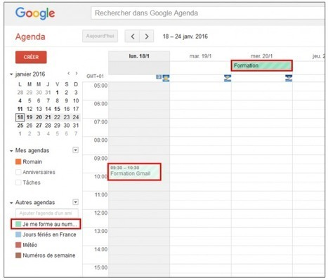 Tutoriel : partager son agenda Google avec des amis | François MAGNAN  Formateur Consultant | Scoop.it