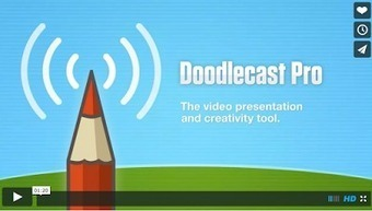 The Popular Whiteboard App Doodlecast Pro Is Now Free | Interactive whiteboards papers | Scoop.it