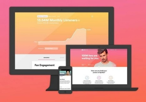 Spotify lanza nueva versión de su web para artistas   EDUCANDO EN LA SOCIEDAD DEL CONOCIMIENTO   Scoop.it