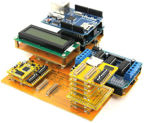 smARtDUINO Open System Provides a Low Cost Modular Arduino Platform | Embedded Systems News | Scoop.it