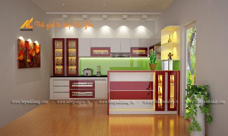 Tủ bếp đẹp chị HOÀI - quận 2 TBS78.   bepankhanggiare   Scoop.it
