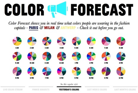 Color Forecast | Life in Color | Color in Life | Scoop.it