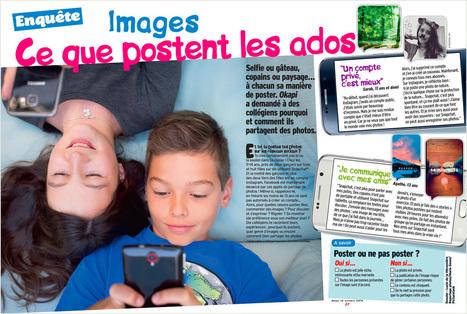 Ados : quelles images partagent-ils sur les réseaux sociaux ? - Bayard Jeunesse | Culture numérique | Scoop.it