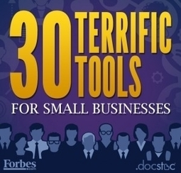 30 Terrific Tools for Small Businesses | WHAT'S AROUND ME- VEILLE ENVIRONNEMENTALE | Scoop.it