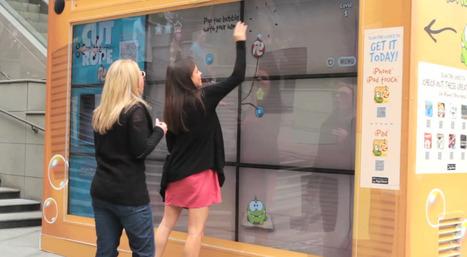 Jouer à Cut the Rope sur un mur tactile MultiTouch géant... et le télécharger sur son mobile | Cabinet de curiosités numériques | Scoop.it