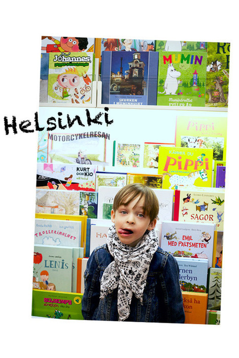 Do this in Helsinki, Do that in NYC: Reading Galore! | Tristin and Tyler | Finland | Scoop.it